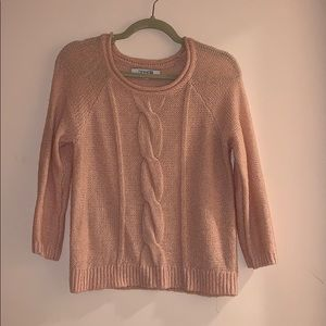 Forever 21 light pink sweater